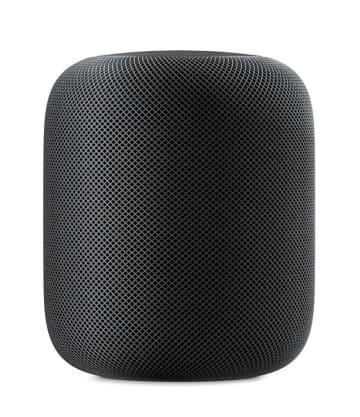 米アップルのAIスピーカー「ホームポッド」(同社提供・共同)