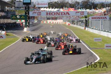 F1日本グランプリに吉田沙保里さん・畠山愛理さんがゲストとして登場