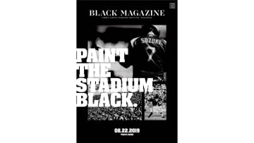 8月22日の東北楽天戦で配布される特別冊子「ブラックマガジン」