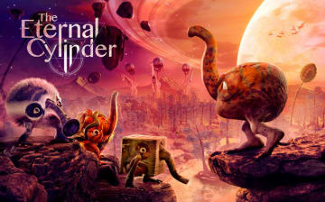 世界観が独特すぎる新作サバイバルADV『The Eternal Cylinder』発表! 巨大な円筒転がる異世界で進化せよ