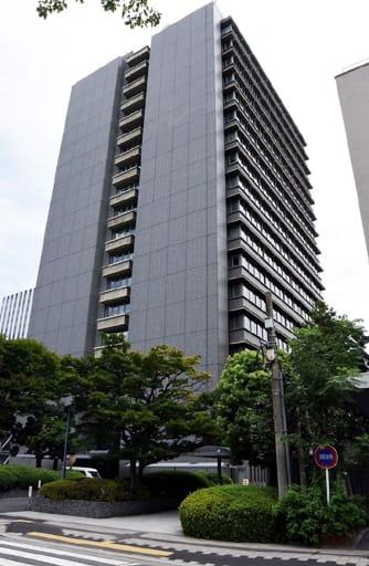 広島県警本部が入る県庁東館(広島市中区)