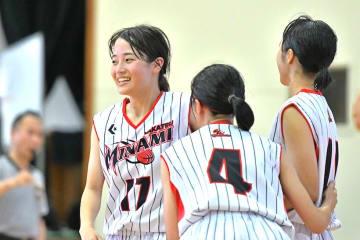 唯一の3年生としてチームを引っ張る坂山優奈