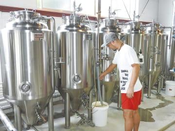 完成した醸造所