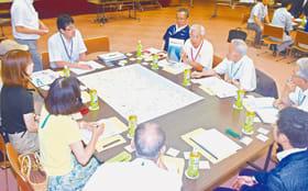 都市計画マスタープランの改定に向けてスタートした市民会議