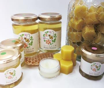 はち育の日(8月19日)で天然ハチミツを量り売り!容器を持参して@横浜アメリカ山公園