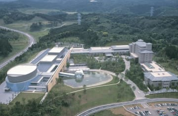 かずさアカデミアパークの中核施設「かずさアーク」(木更津市)
