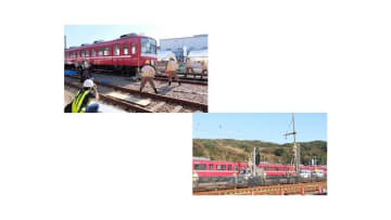昨年実施した訓練の様子 画像:京急電鉄