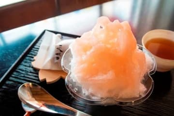 素材や製法にこだわった「純氷」のかき氷