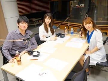(左から)博多大吉、古賀涼子、関口舞さん