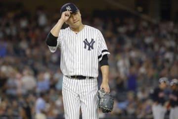 9勝目を挙げたヤンキース・田中将大【写真:AP】