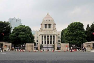【資料写真】国会議事堂