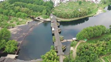 江西省婺源県「最も美しい農村」の廊橋を訪ねて