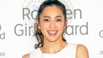 ファッション&音楽イベント「Rakuten GirlsAward 2019 SPRING/SUMMER」に出演し取材に応じた中村アンさん