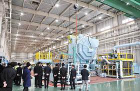 今年完成した大岡技研の室蘭第2工場