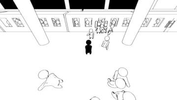 ふにゃふにゃの人混みをかき分ける『群衆シミュレーター』発表―満員電車など様々な状況を体験