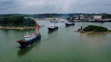 北部湾で漁解禁 広西チワン族自治区