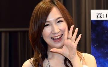 ラジオ番組「Anison Days+」の公開生放送前に取材に応じた森口博子さん