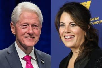 ビル・クリントン元米大統領、モニカ・ルインスキー - Andrew Chin / Getty Images、Michael Tran / FilmMagic / Getty Images
