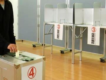 有権者の4割以上、投票する候補者未定