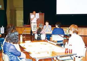 講話や「ケア☆カフェ」を通して意思決定支援の在り方を考えた講座