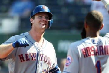 40号本塁打を放ったメッツのピート・アロンソ【写真:Getty Images】