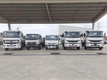 ダイムラー・インディア・コマーシャル・ビークルズのトラック=同社提供