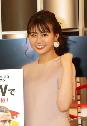 「2019-20 WOWOWリーガール」に就任した井口綾子さん