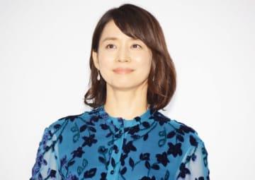 三谷幸喜監督の新作映画『記憶にございません!』完成披露に登壇した石田ゆり子
