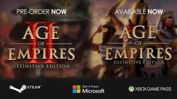 リマスター『Age of Empires II: Definitive Edition』11月15日発売決定!前作『AoE: DE』Steam版が発売開始―クロスプレイ対応