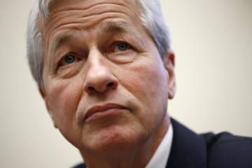 JPモルガン・チェースのダイモン最高経営責任者(CEO)=4月、ワシントン(AP=共同)