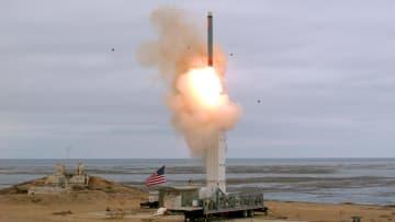 米、中距離の地上型ミサイル実験 INF条約失効後初 画像