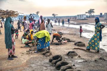 避難民キャンプ=2018年、プルカ ©Igor Barbero/MSF