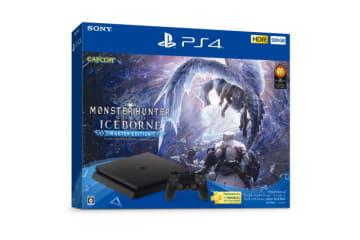 PS4本体と『モンハンワールド:アイスボーン マスターエディション』の同梱パックが登場!9月6日より数量限定で販売