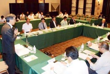 連携事業の進捗状況が報告された懇談会