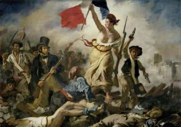 Liberty Leading the People, Eugène Delacroix. Photo: Wikicommons.
