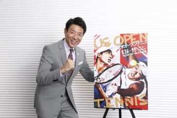WOWOW テニス解説者の松岡修造氏