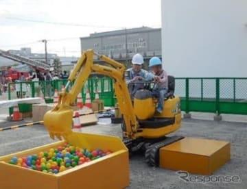 コマツ湘南工場フェア(例年の様子)