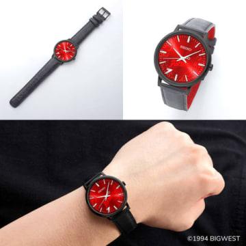 「マクロス7」とセイコーがコラボした腕時計「マクロス7 × SEIKO Fire Bomberモデル 25周年記念アニバーサリーウォッチ」(C)1994 BIGWEST