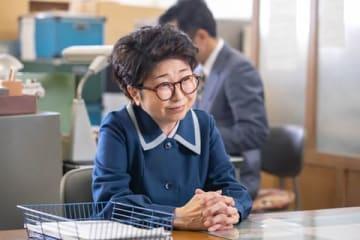 NHK連続テレビ小説「なつぞら」第123回に登場した田中真弓さん (C)NHK