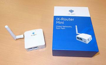 日中の通信が安定する縁通のIX-Router Mini