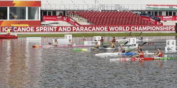 ハンガリーのセゲドで開幕したカヌー・スプリントの世界選手権(共同)