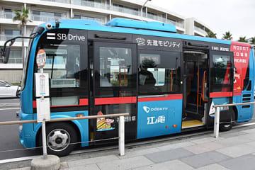 実証実験に使われる小型バス
