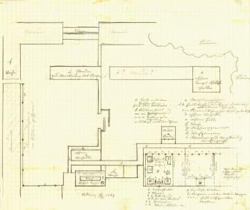 明治天皇の住まい「皇城」図発見 オーストリアで、手記も保存 画像