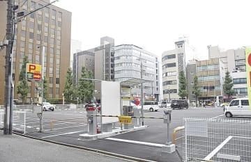再開発の計画地(名古屋市中区栄2)