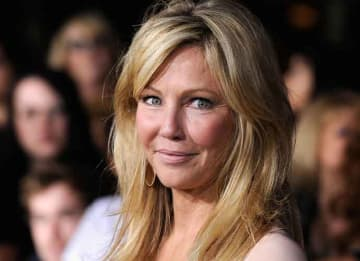 LOS ANGELES, CA - NOVEMBER 14: Actress Heather Locklear arrives at Summit Entertainment's 'The Twilight Saga: Breaking Dawn - Part 1' premiere at Nokia Theatre L.A. Live on November 14, 2011 in Los Angeles, California. (Photo by Frazer...