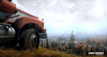 オフロードシム続編『SnowRunner』PC/PS4/XB1で2020年海外発売発表―雪山含む悪路で格闘するトレイラー公開