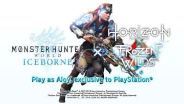 PS4『モンハンワールド:アイスボーン』と『Horizon Zero Dawn:凍てついた大地』のコラボが海外向けに発表!ティーザー動画も公開