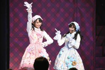 AKB48[ライブレポート]チーム4 山内瑞葵・坂口渚沙、「初恋の鍵」をキュートにパフォーマンス!