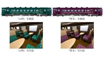 山紫水明シリーズ車両