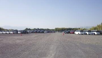 新たな商品センターの建設地(鈴鹿市八野町)。納車センター、体験試乗コースも設ける